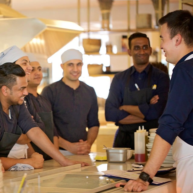 Free mental health training for chefs